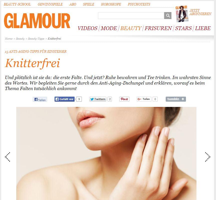 Knitterfrei - 15 Anti-Aging Tipps